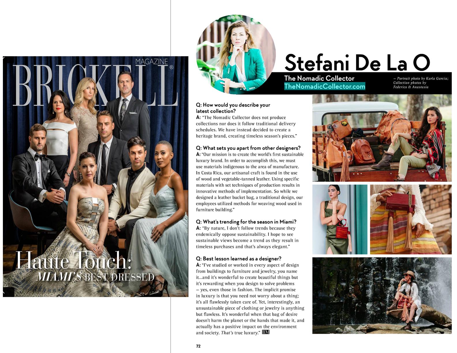 Brickell Magazine _ Nomadic Collector _ Stefani De La O
