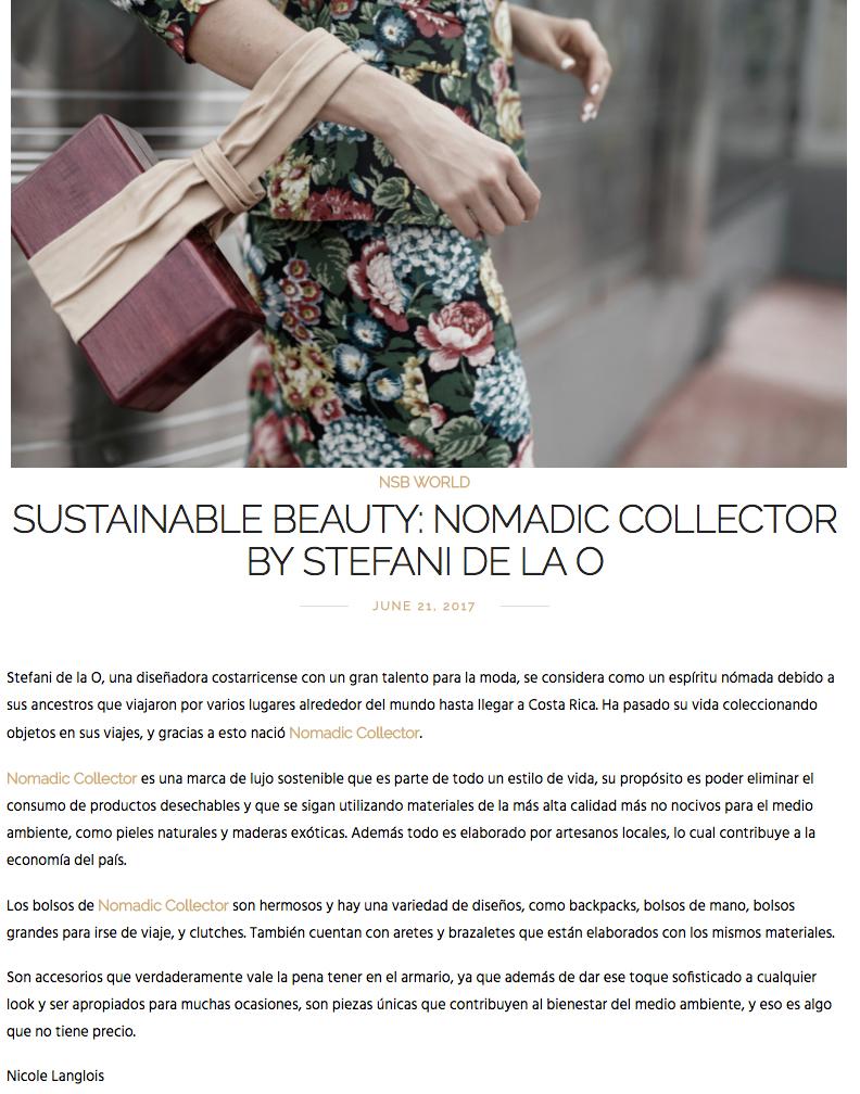 Not So Blonde Blog_Nomadic Collector_Sustainble Beauty_Stefani De La O