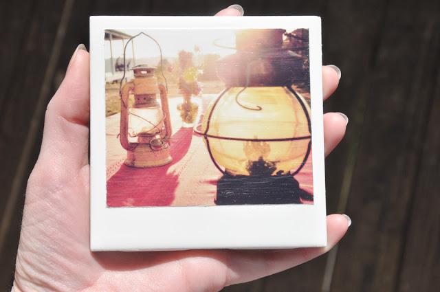 DIY: Homemade Polaroid Coasters — Darkroom and Dearly