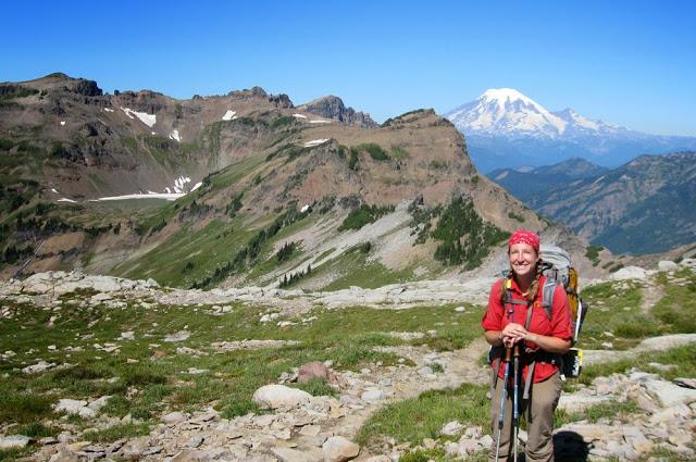 Bramble and Mt. Rainier