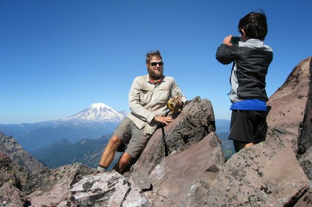 Giddyup and Mt. Rainier