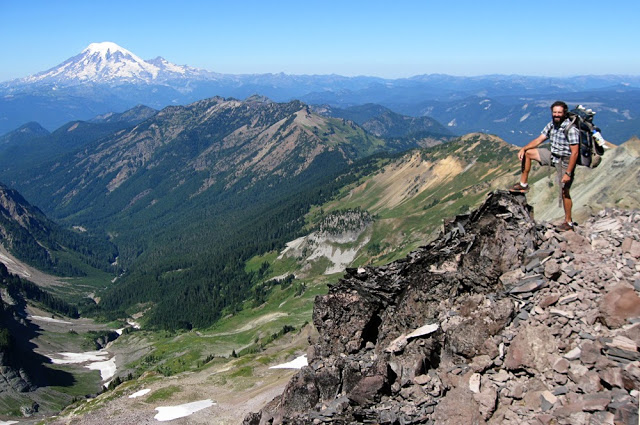 Treekiller with Mt Rainier