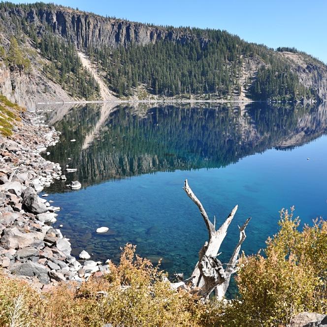 Crater Lake, Oct 2012