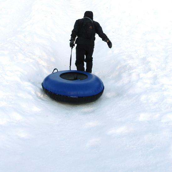 Ski Bowl Tubing, Jan 2013