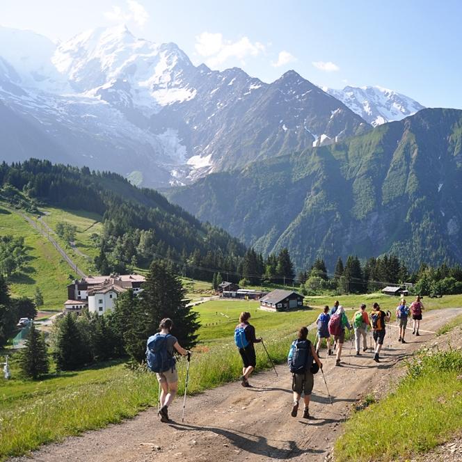 Mont Blanc, France, July 2013