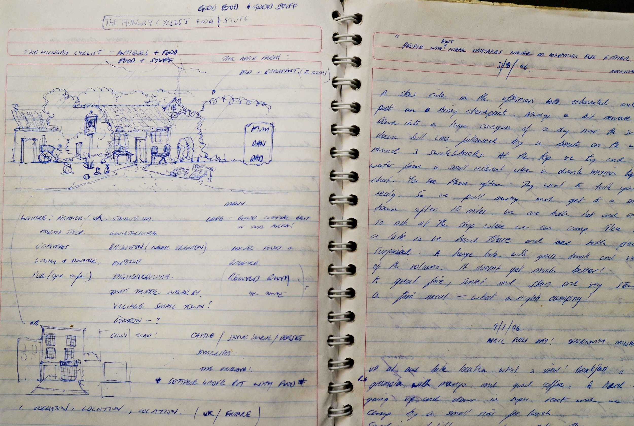 The doodle where it all began. March 2006.
