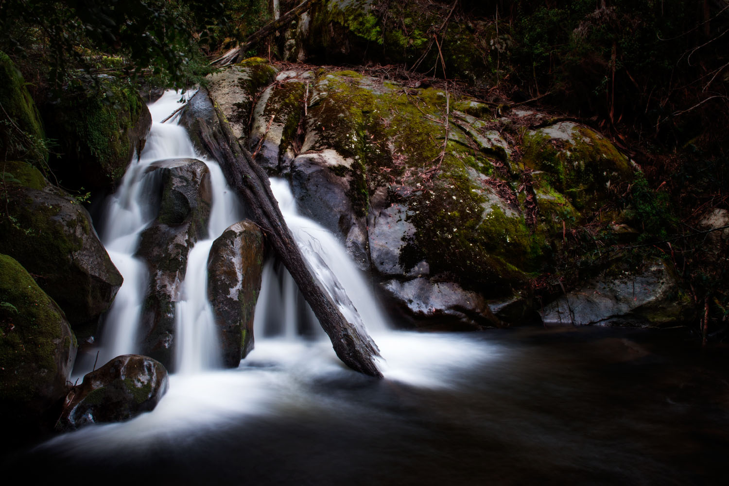 Taggerty Cascade Falls near Marysville. It is in the northerly direction and takes between one and half to two hours to get to.