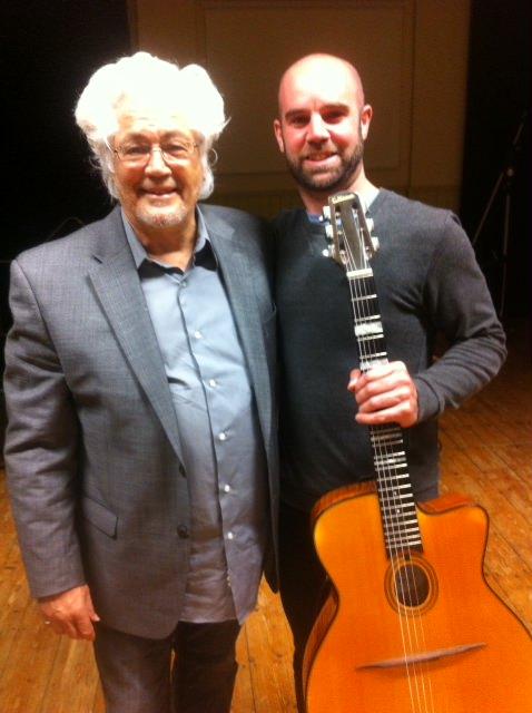 Brendan Guitar Maher and Larry Coryell.JPG
