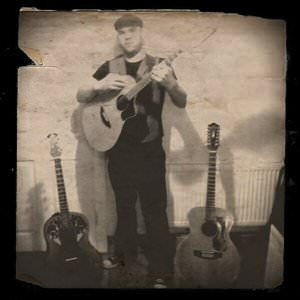 Brendan Guitar performing some Gypsy Jazz in Block T, Dublin