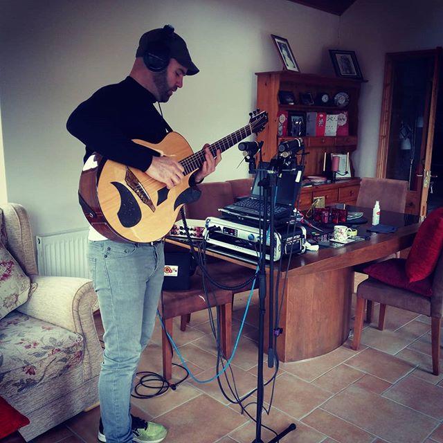 First EP recording coming along nicely.. finally!  #avianguitars #fingerstyleguitar  #guitarsdaily #guitarspotter #presonus #neumann.berlin #shure #brendanguitarmaher