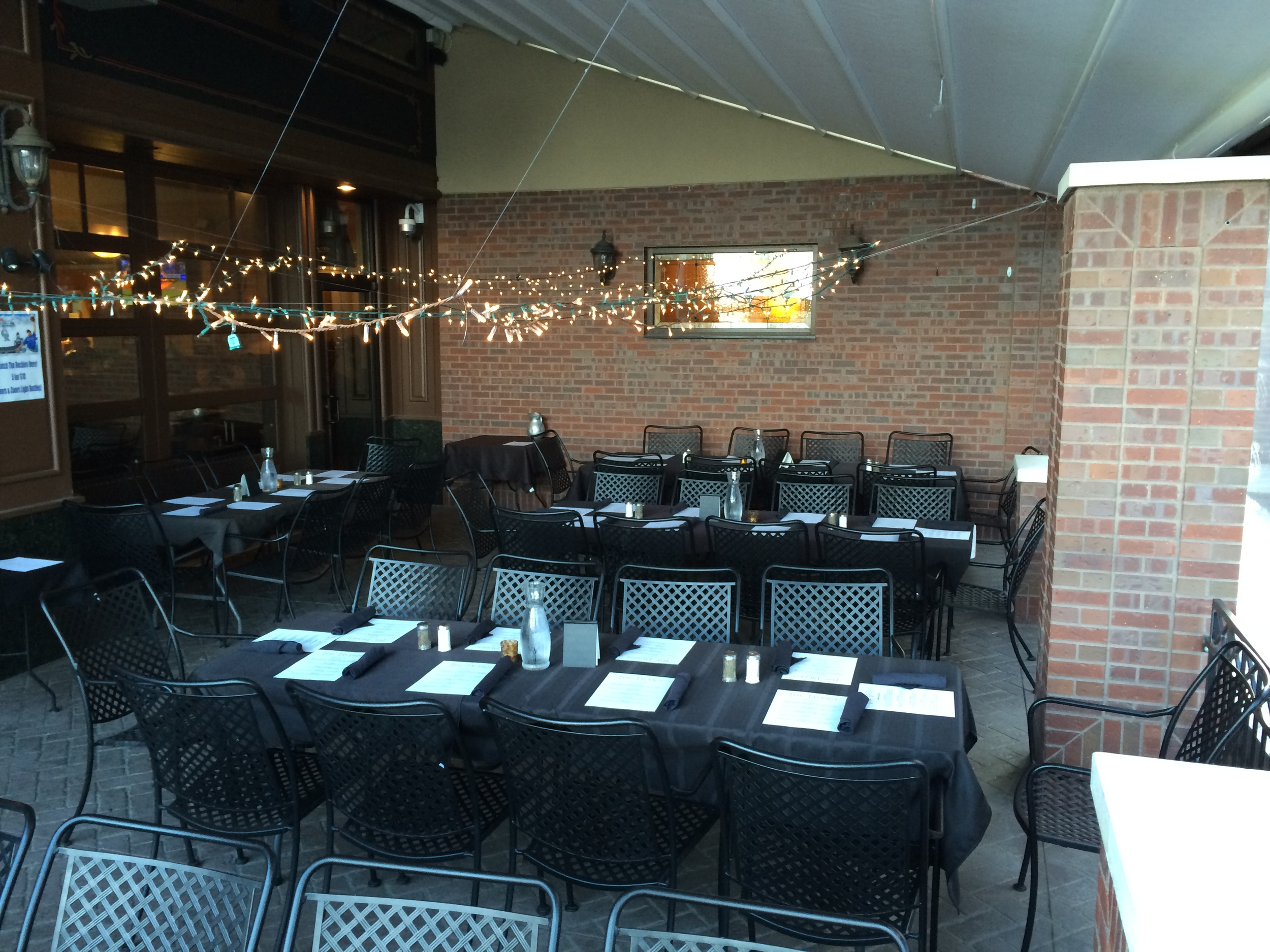 The Tavern at St Michael's Square Greeley Colorado Patio Catering
