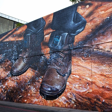 PALLADIUM BOOTS - LAUNCH MURAL