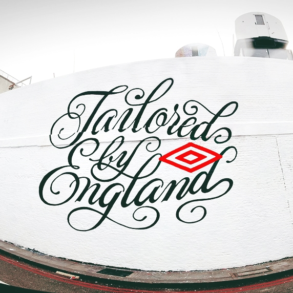 UMBRO - TAILORED BY ENGLAND