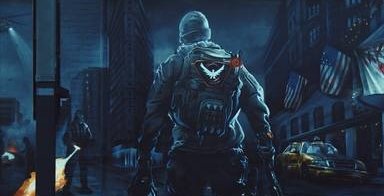 THE DIVISION- GAME ARTWORK, MURAL DESIGN & PRODUCTION
