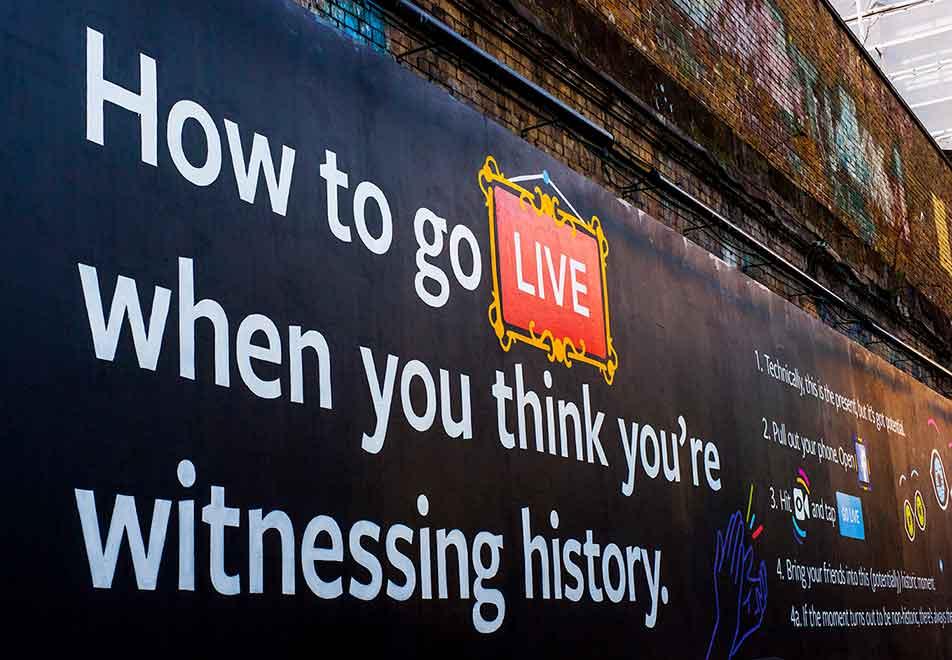 FACEBOOK - HOW TO GO LIVE