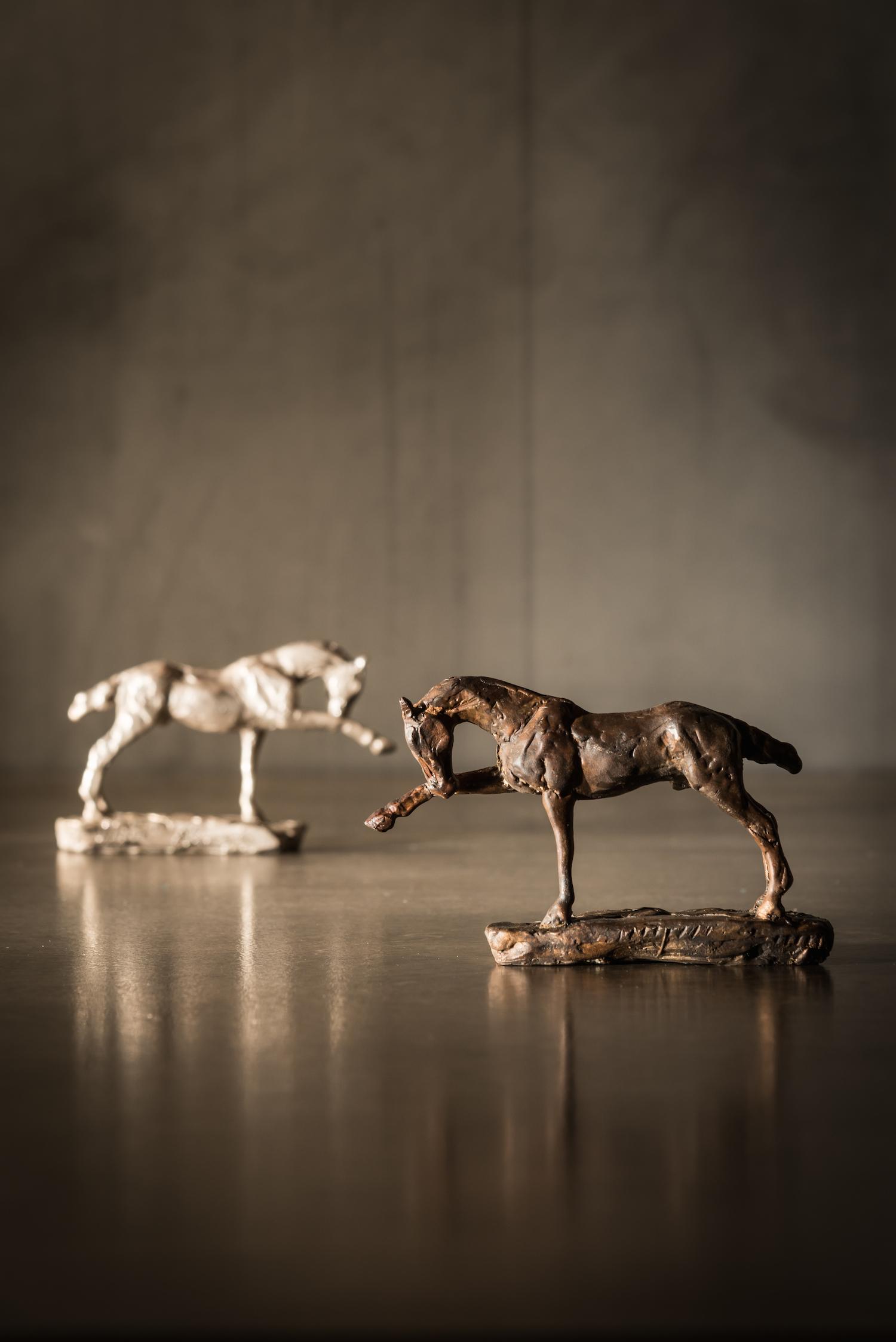 Focus l  Maquette  l Bronze  l  2x3x1  l  $350