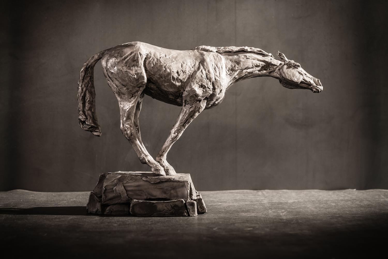 Reach Recklessly  l  Bronze  l  18x12x5  l  $4,000