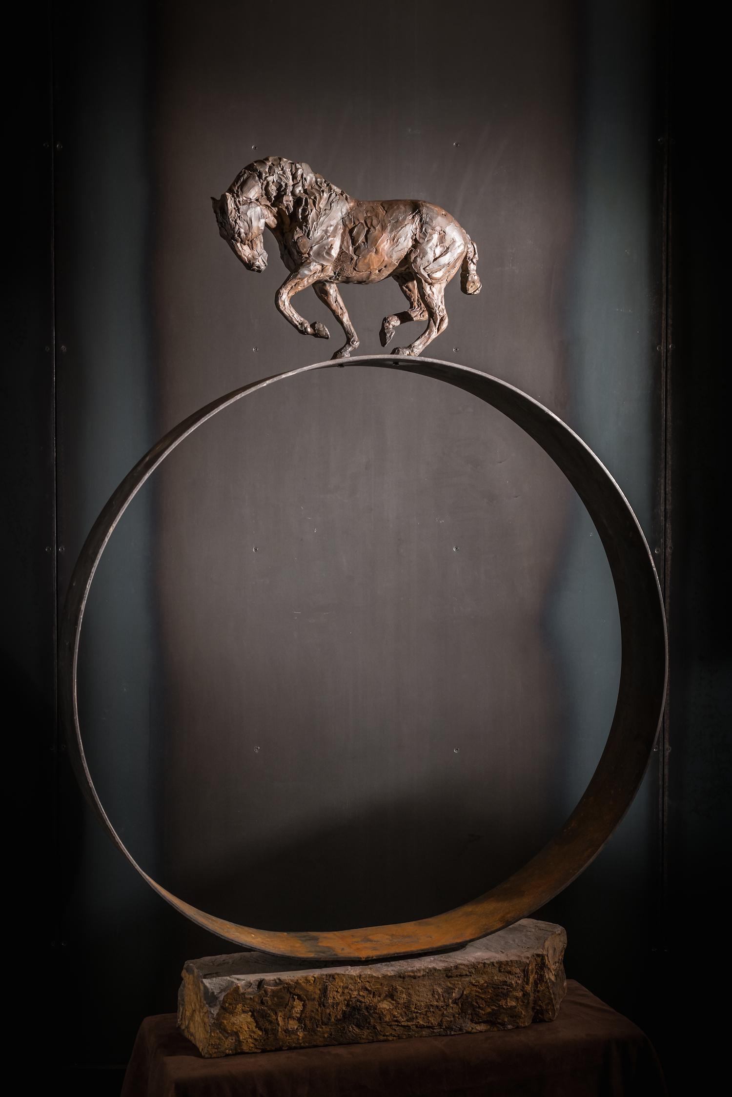 Precarious l  Bronze  l  56x36x6  l  $9,200
