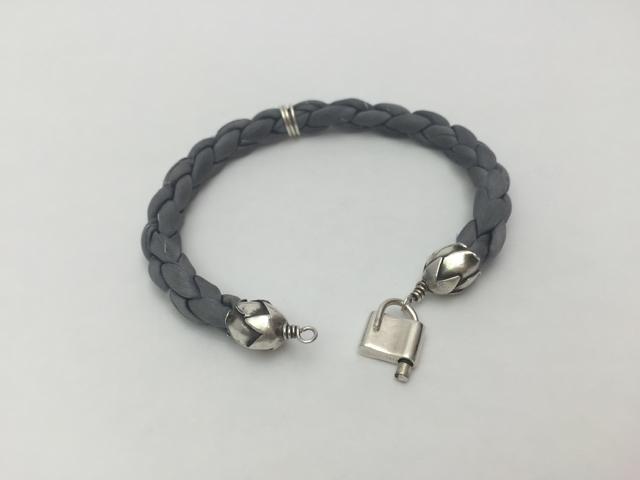 Silk Wedding Bracelet