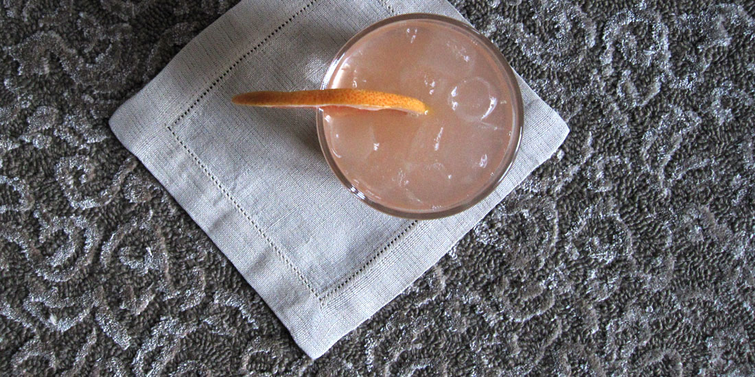 Distinct cocktail napkins