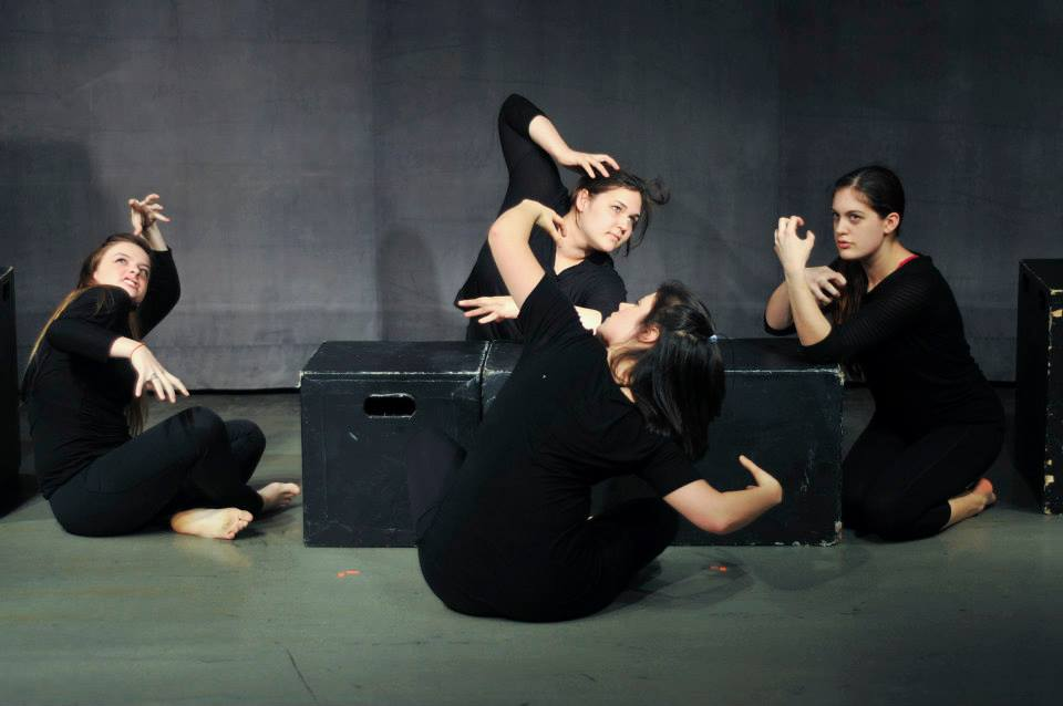 Members of the company explore text by Anne Sexton as a dark epilogue to the well-known tale