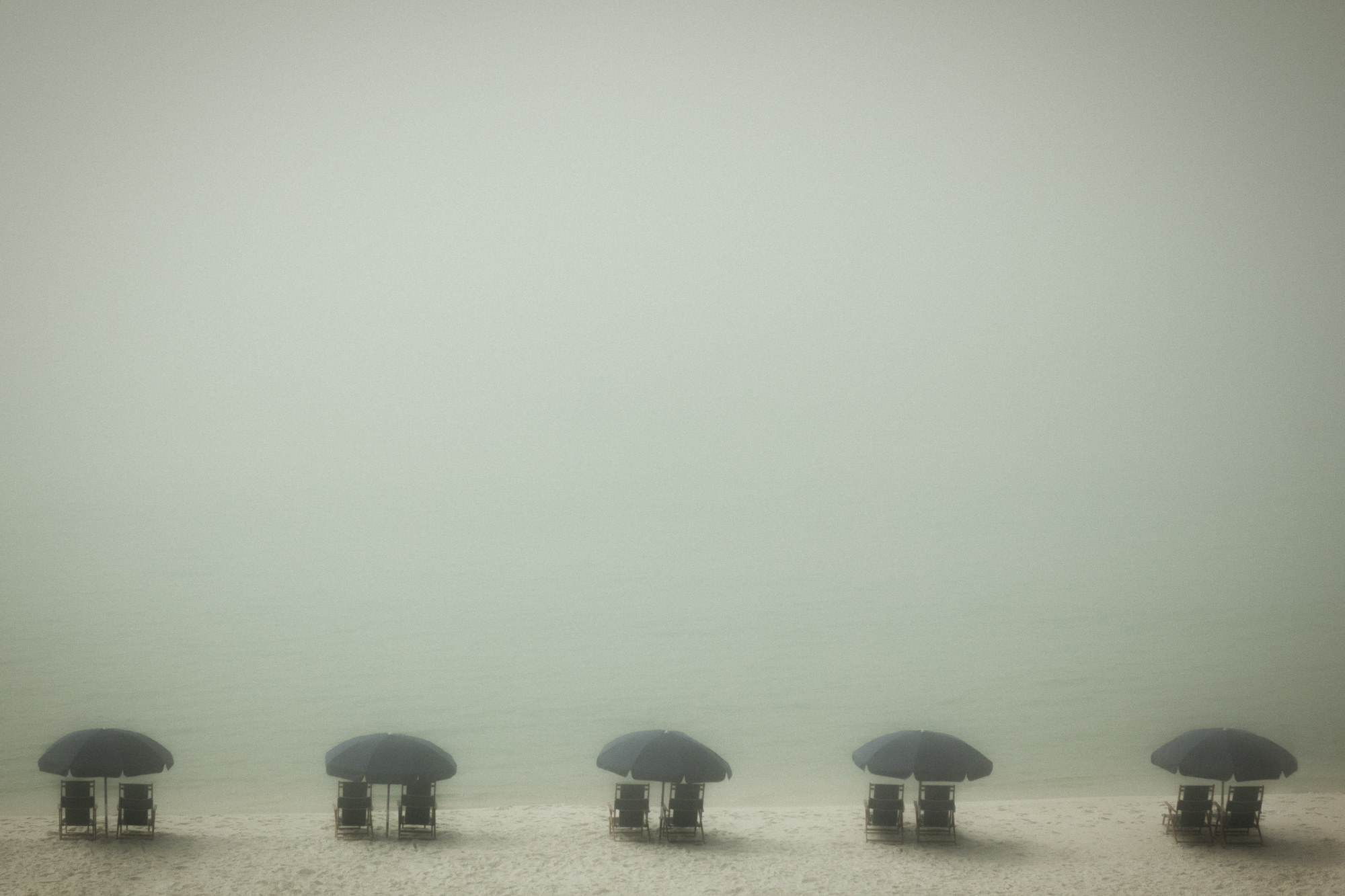 Beach Fog, Santa Rosa Beach, Florida