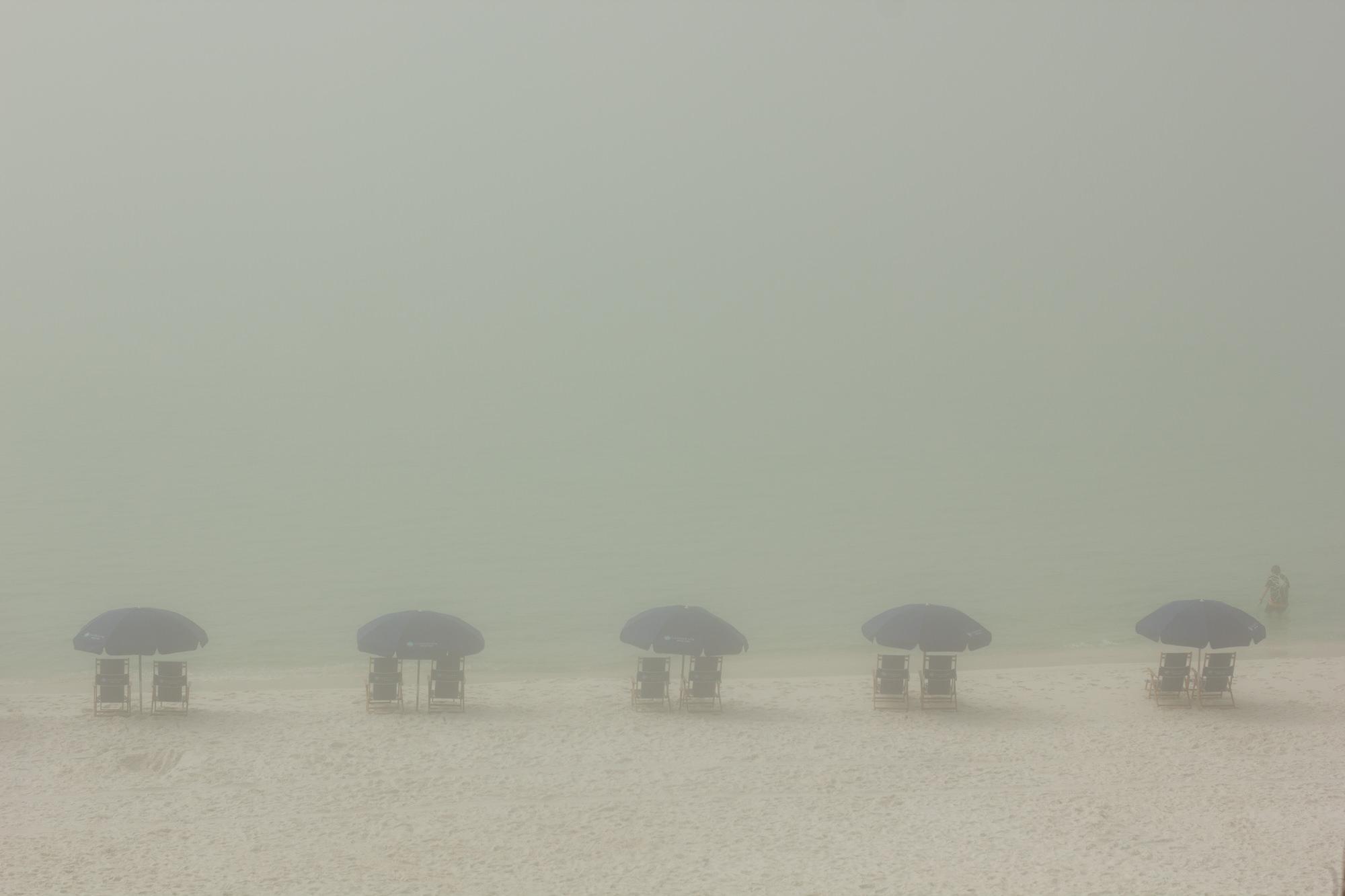 Beach Fog, Santa Rosa Beach, Florida, In Camera - Tim Putnam