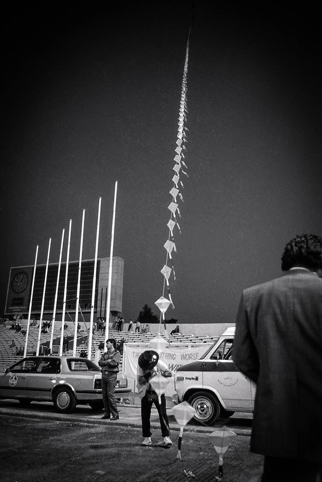 Kites, Baghdad, 1990