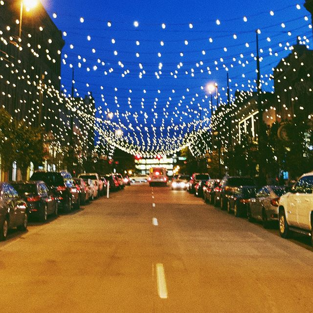 Colorado nights. #larimersquare #colorado #denver #denvercolorado