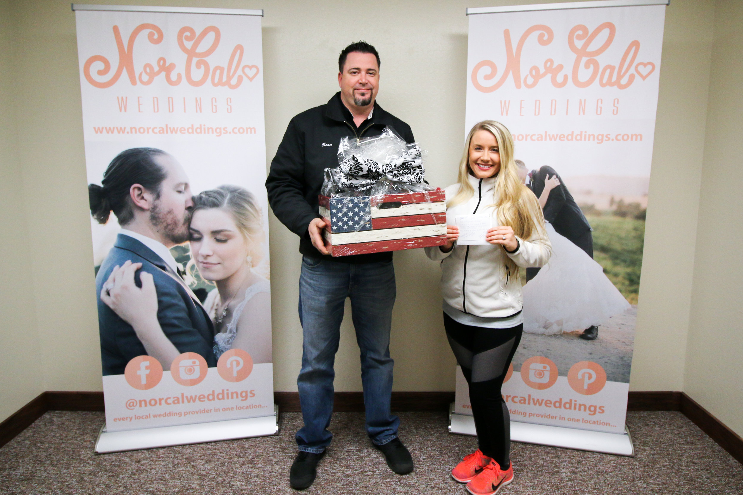 Congratulations to Ashlie & Sean!!! They are the winners of the Gift Certificate & Gift Basket from  Etched in Elegance  Catering!!! Ashlie & Sean are getting married on 04/29/2017 & we wish them a happy wedding & a beautiful life together!!!