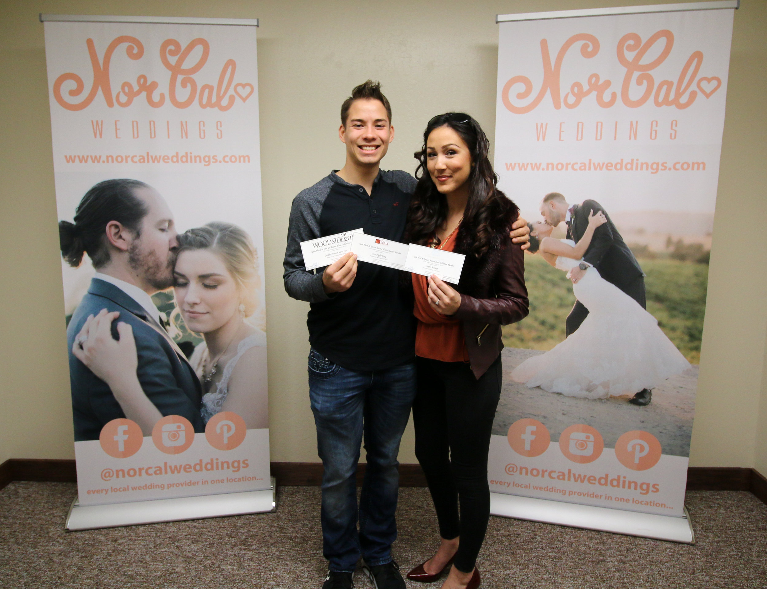Congratulations to Christian & Mikala!!! They are the winners of the Gift Certificates from  Gaia Hotel & Spa !!! Christian & Mikala are getting married on 9/1/2017 & we wish them a happy wedding & a beautiful life together!!!