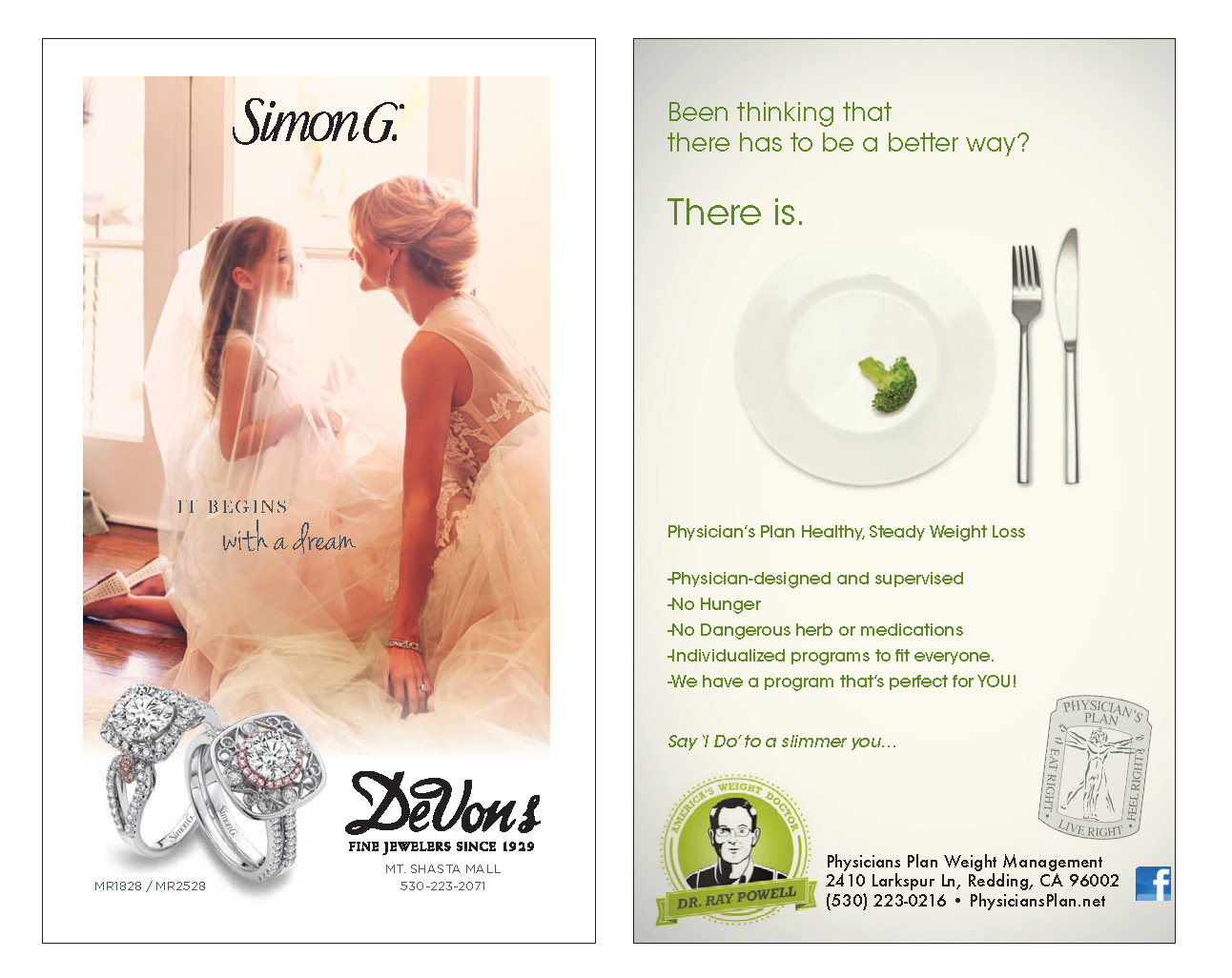 Enjoy Magazine | Redding Bridal Show | Wedding Style Guide