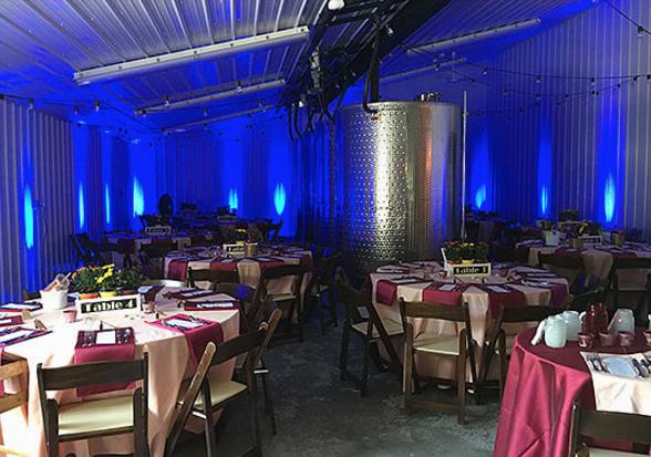 Varga Lighting Services   Redding Bridal Show