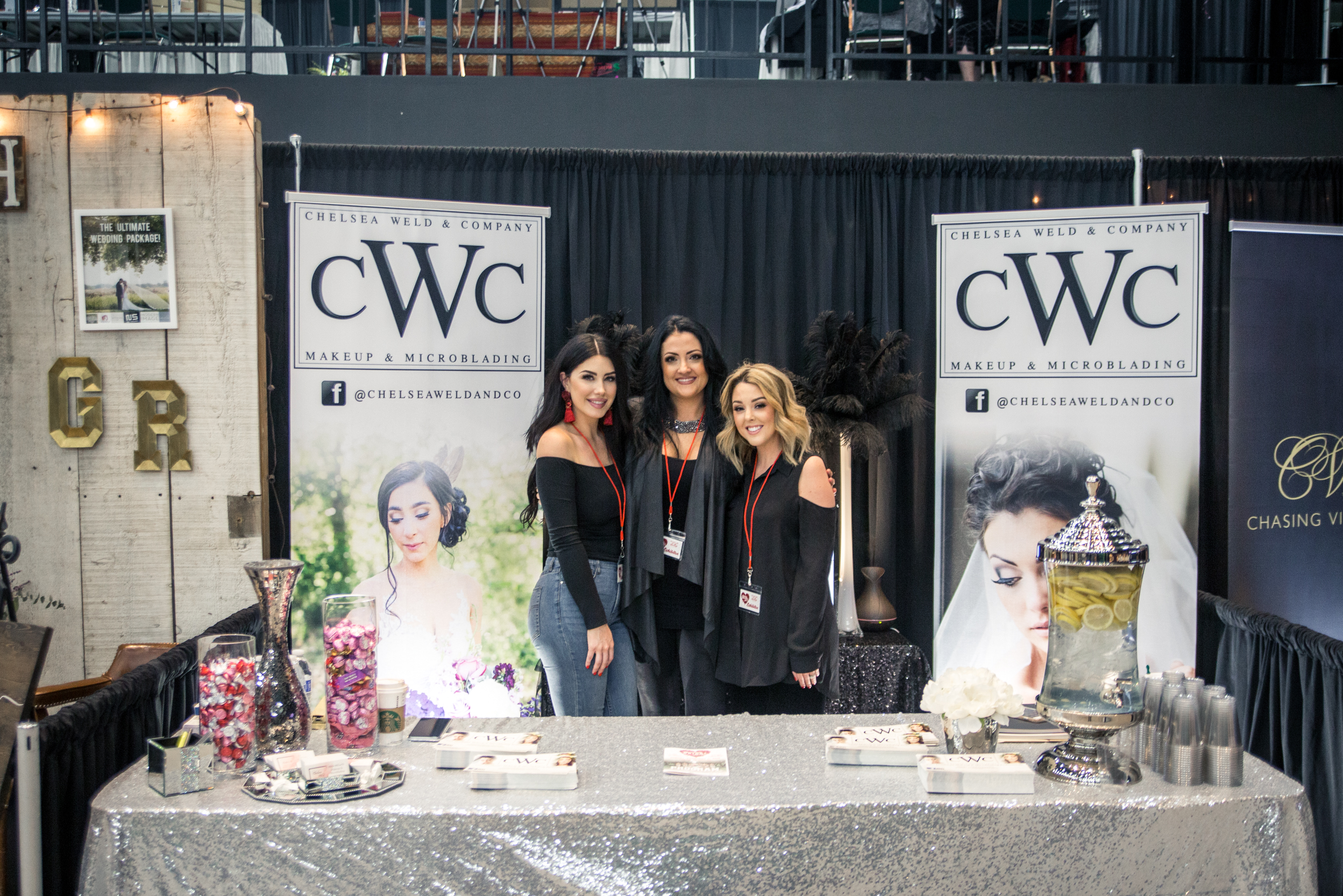 Chelsea Weld and Co Redding Bridal Show Wedding Expo