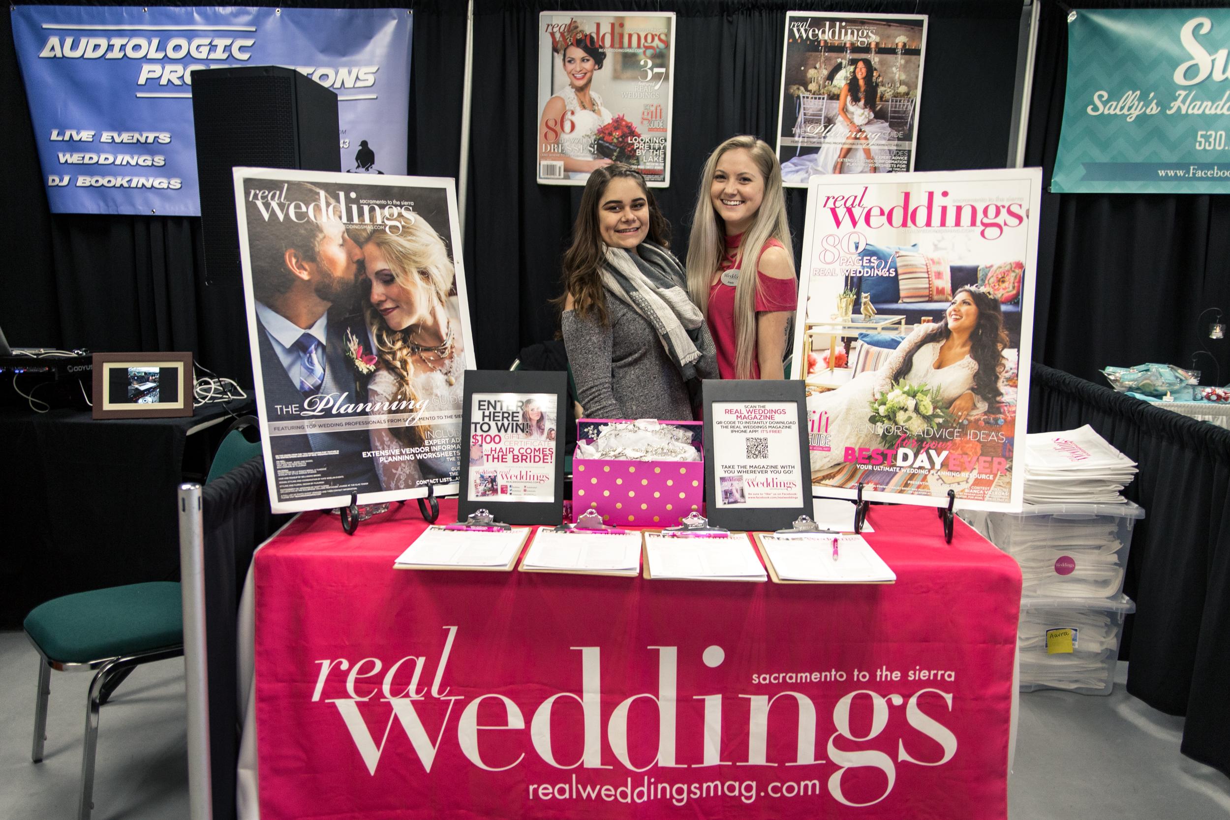 Real Weddings Magazine Redding Bridal Show Wedding Expo