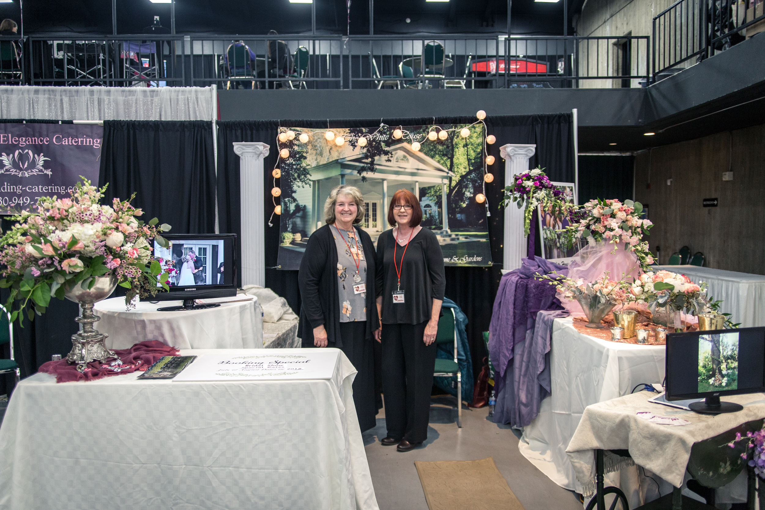 The White House at Churn Creek Golf Course Redding Bridal Show Wedding Expo