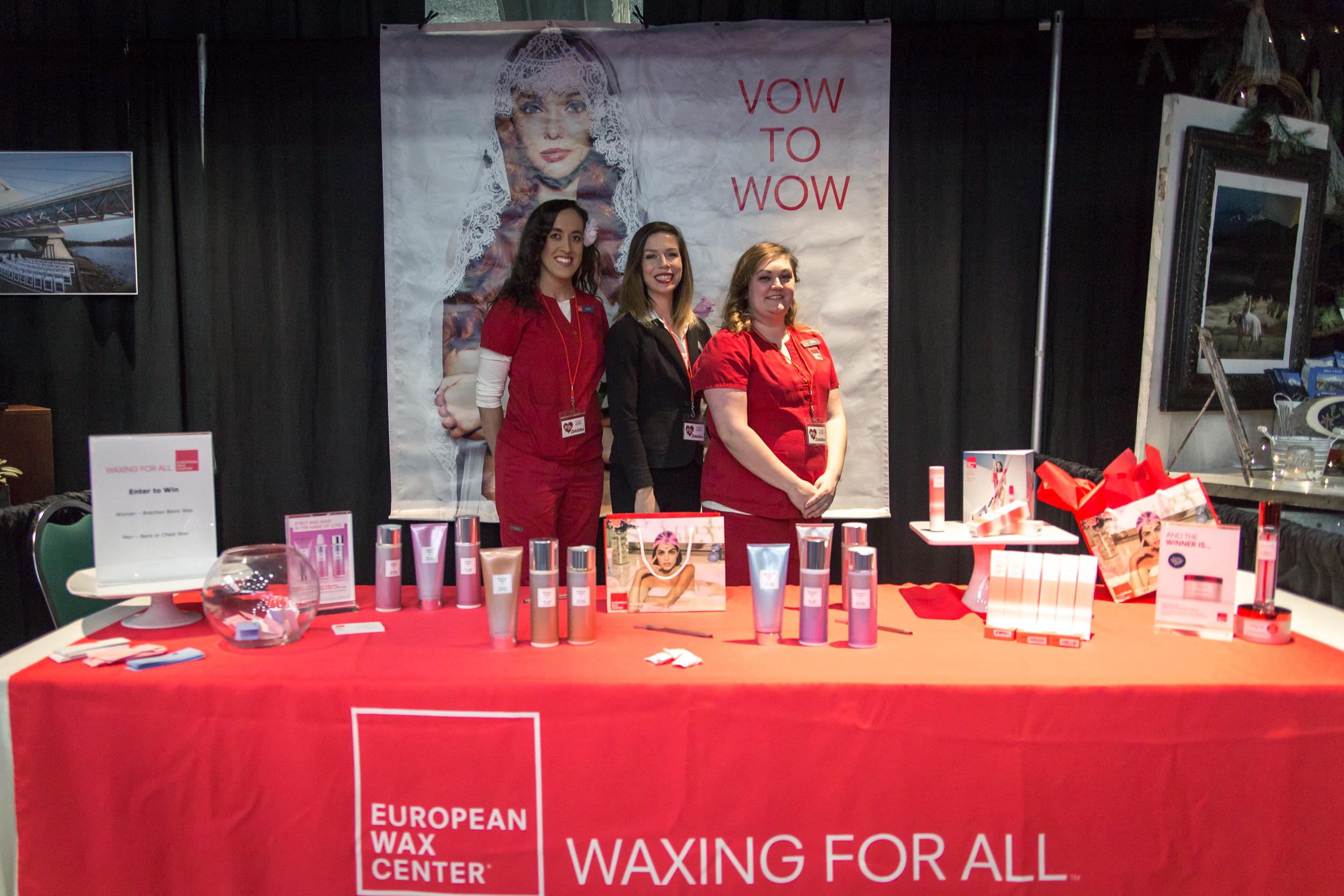 European Wax Center Redding Bridal Show Wedding Expo