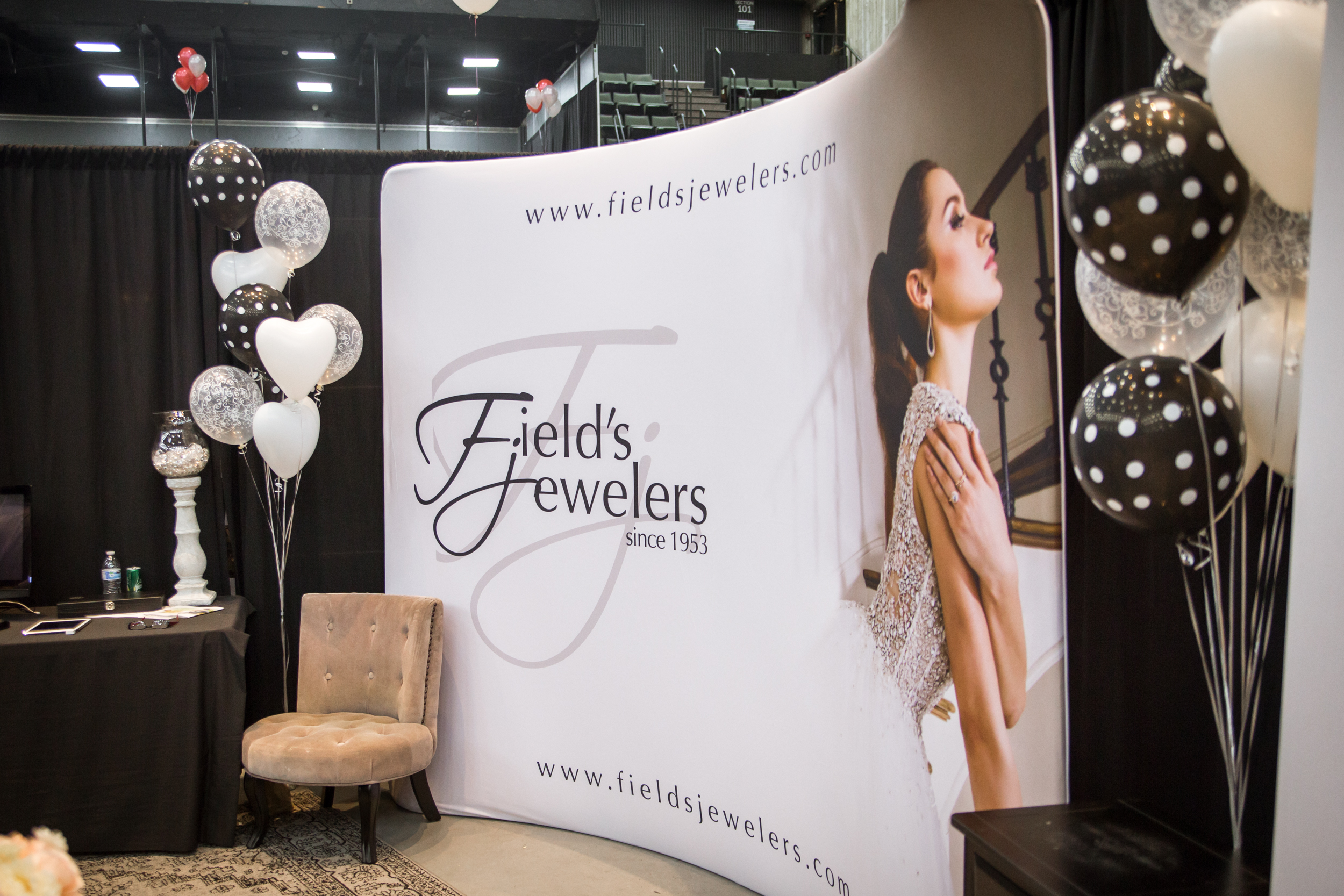 Field's Jewelers Redding Bridal Show Wedding Expo