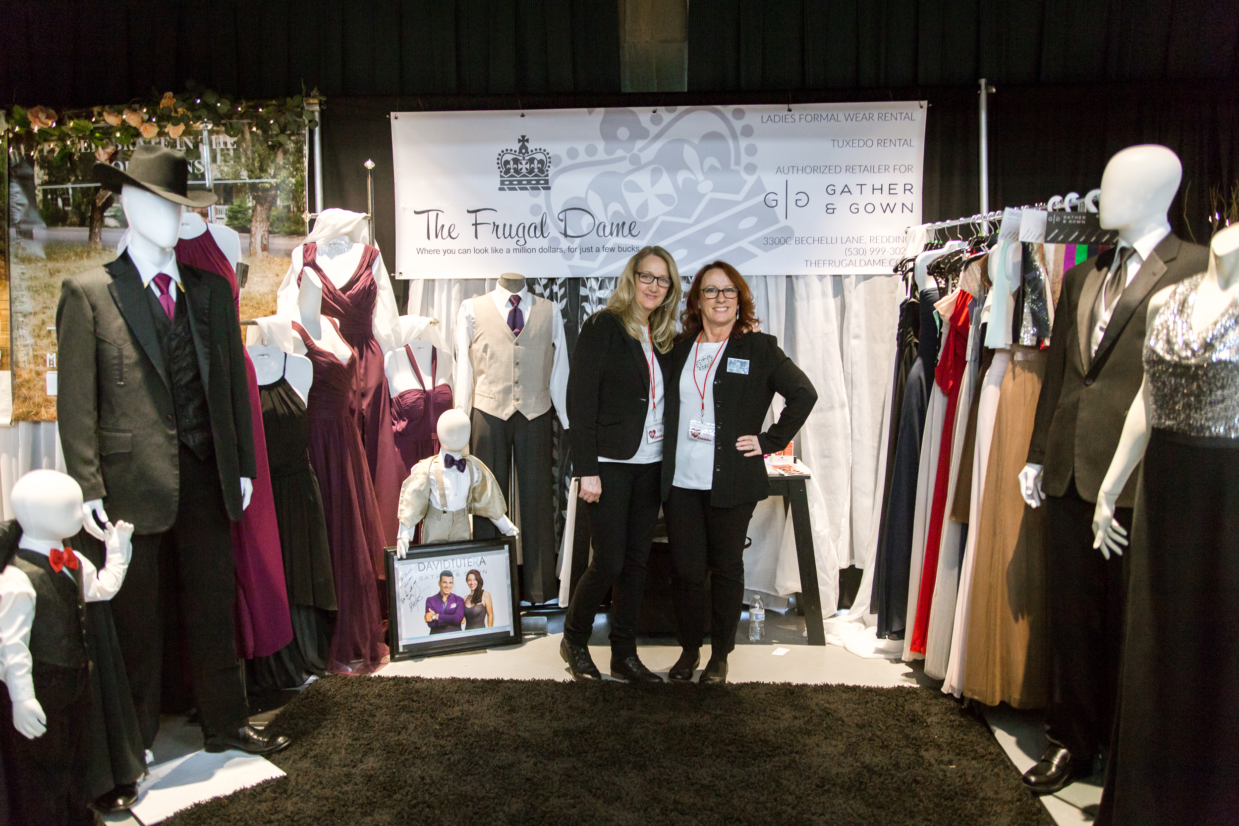The Frugal Dame Redding Bridal Show Wedding Expo