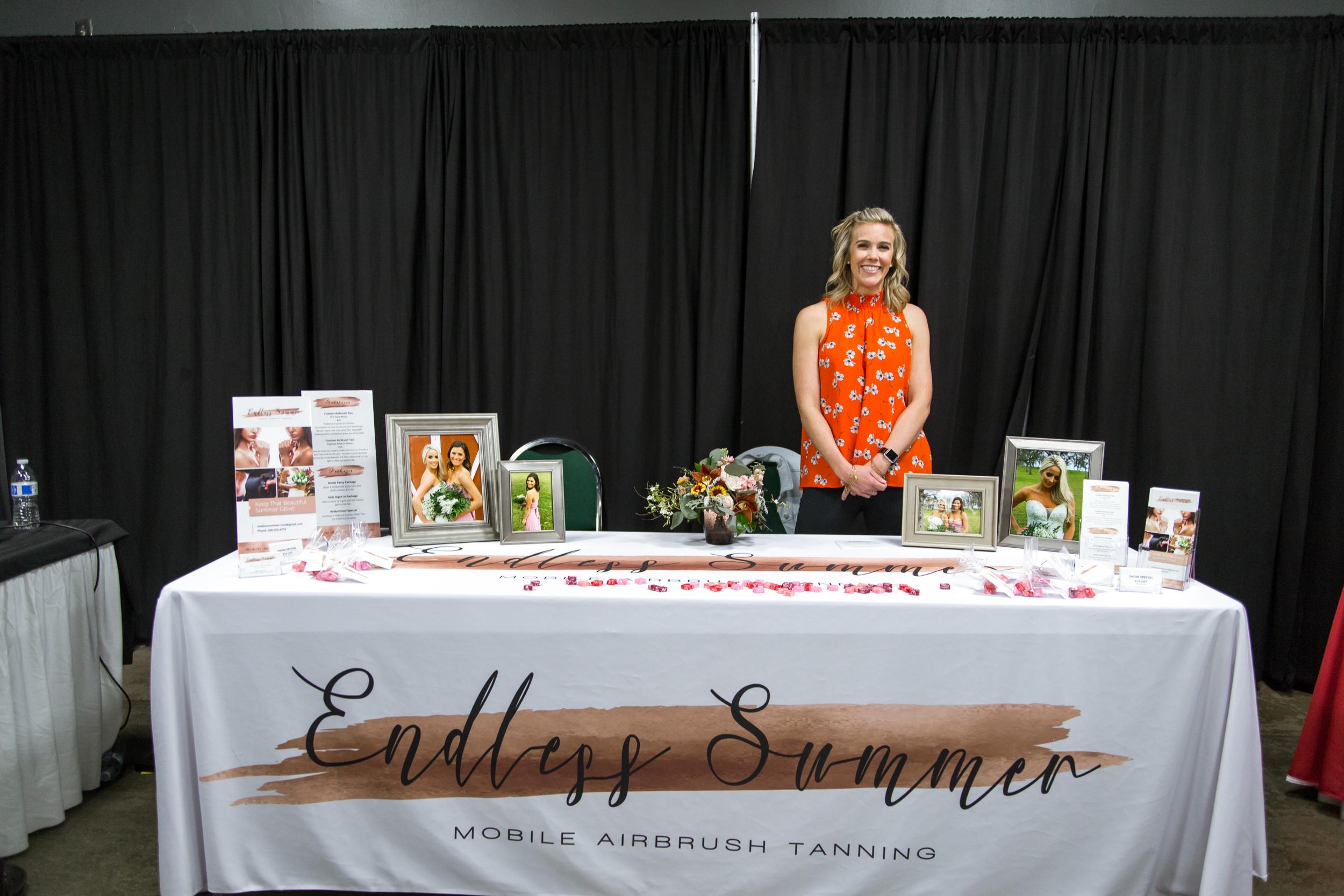 Endless Summer Tanning Redding Bridal Show Wedding Expo