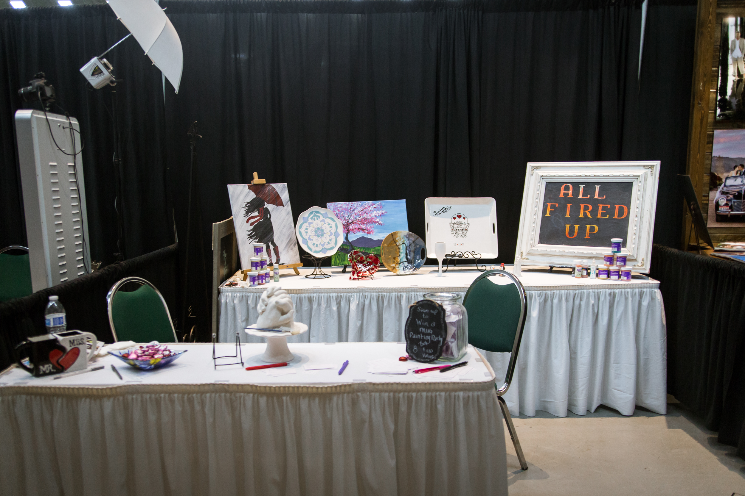 All Fired Up Redding Bridal Show Wedding Expo