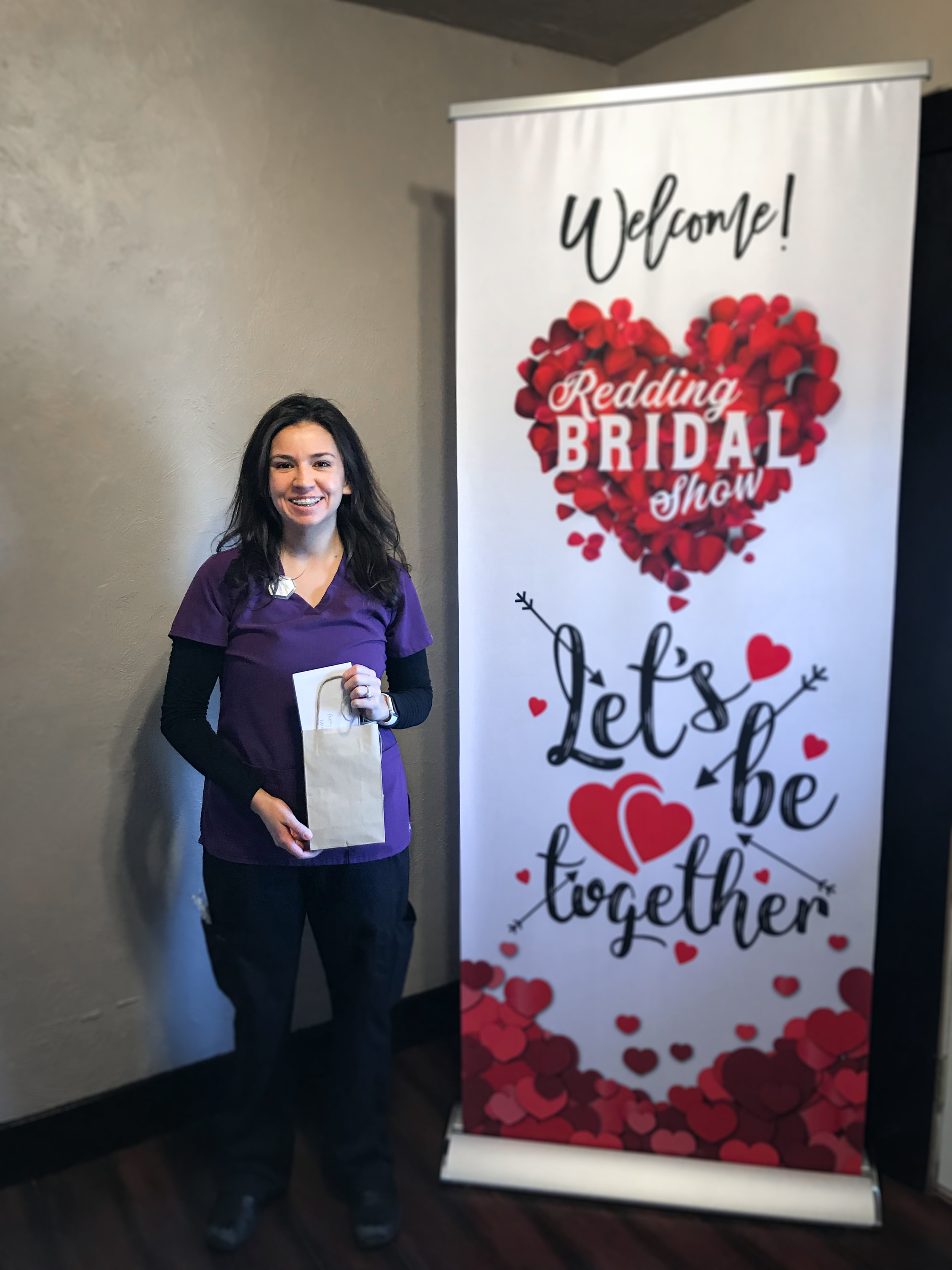 Ashley Moore Photography Prize Winner Redding Bridal Show