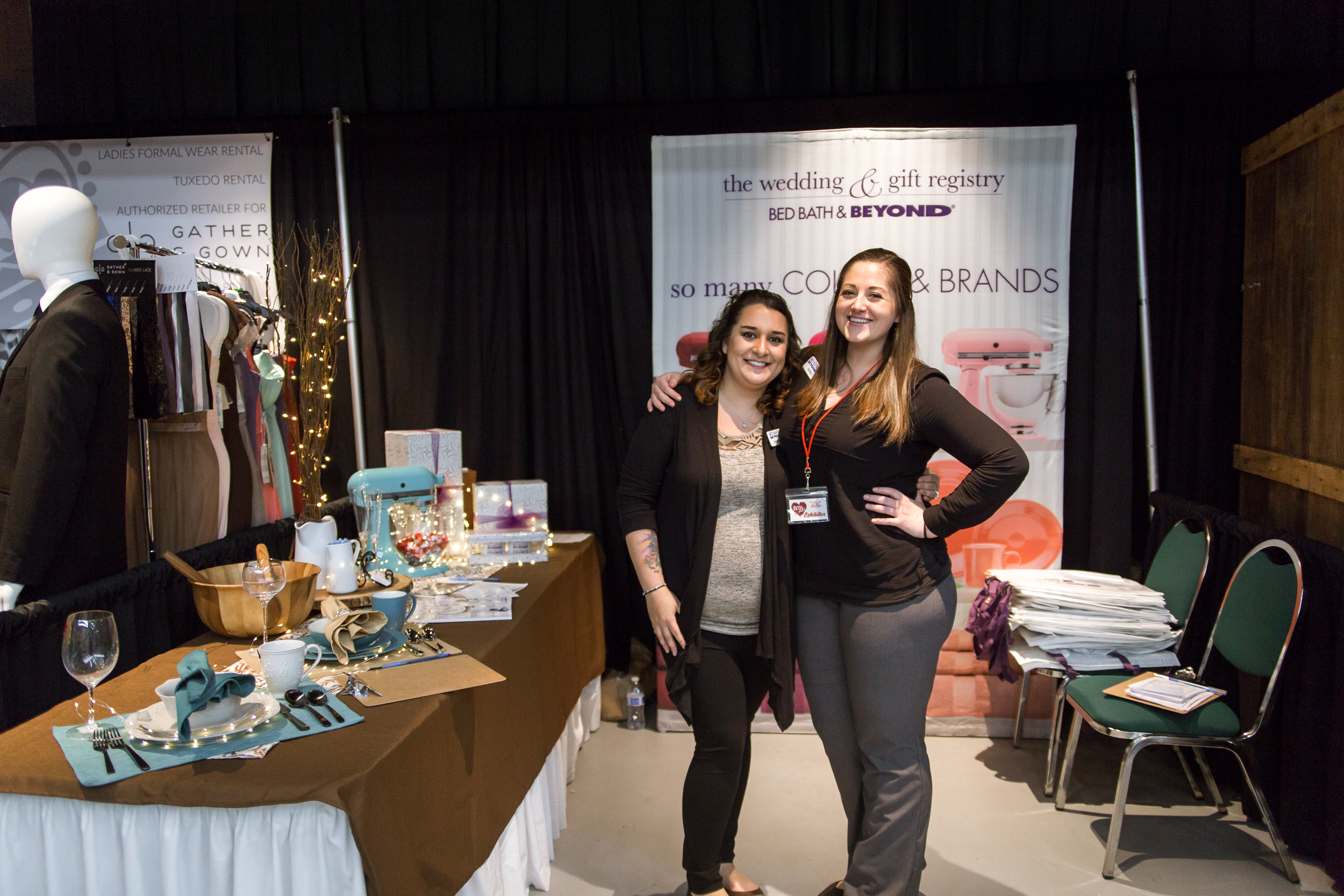 Bed Bath and Beyond  Redding Bridal Show Wedding Expo