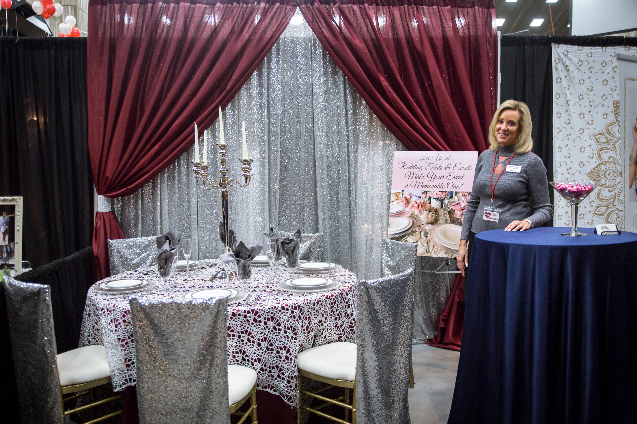 Redding Tents and Events Redding Bridal Show Wedding Expo