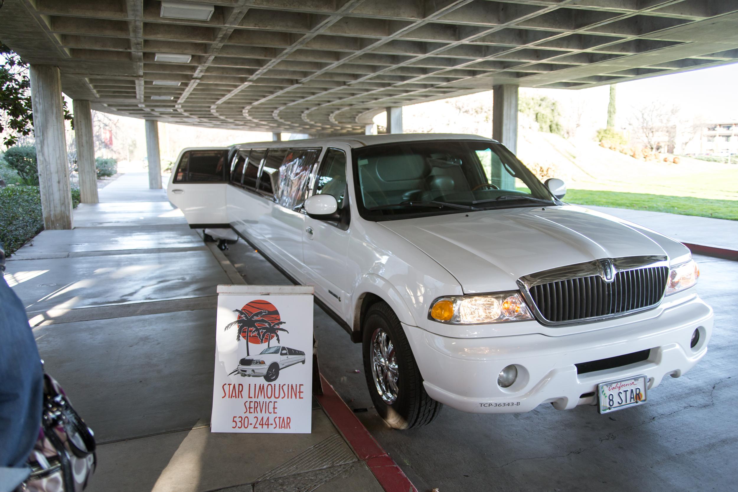 Star Limousine Service Redding Bridal Show Wedding Expo