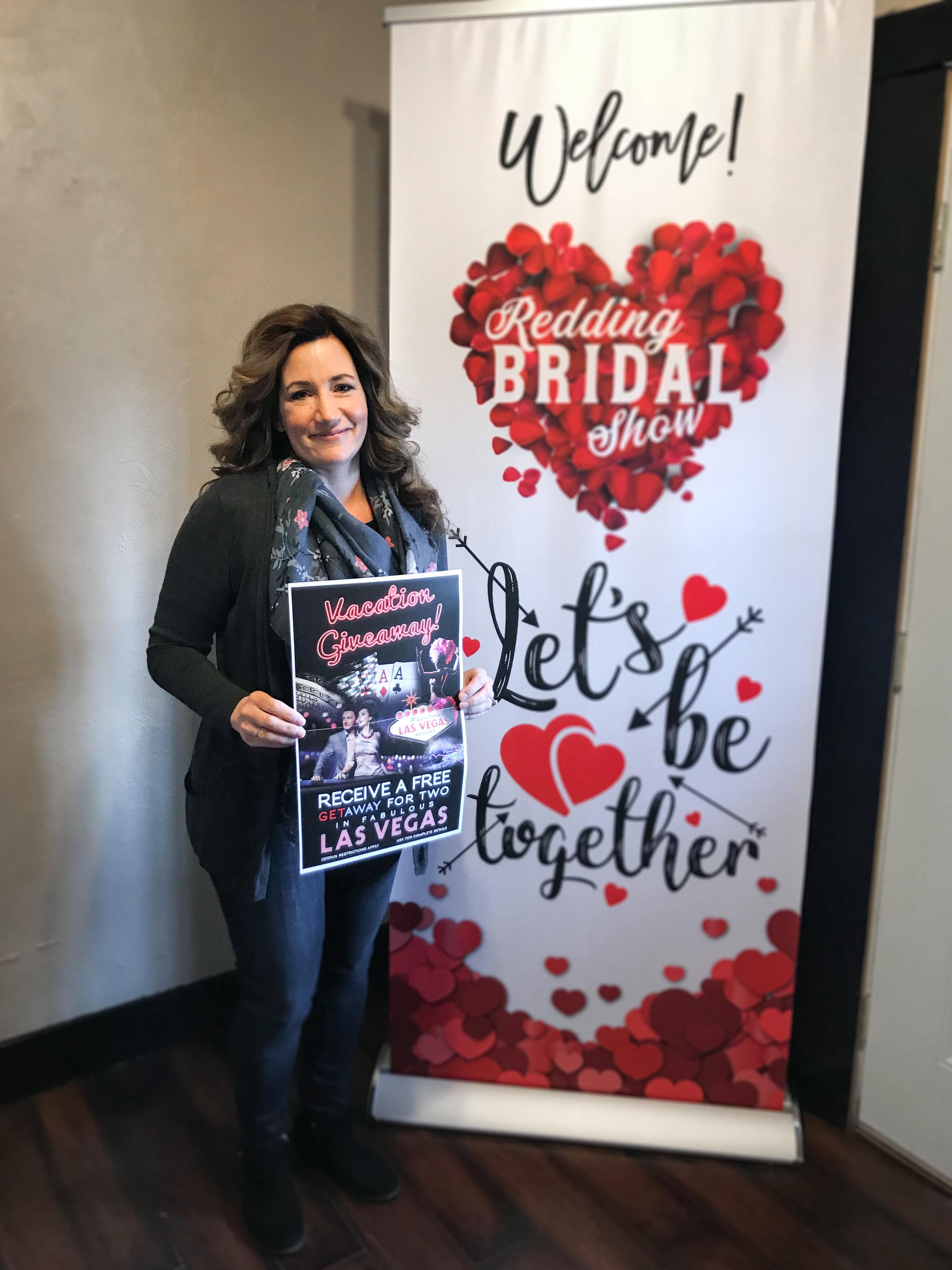 Las Vegas Trip Prize Winner Redding Bridal Show