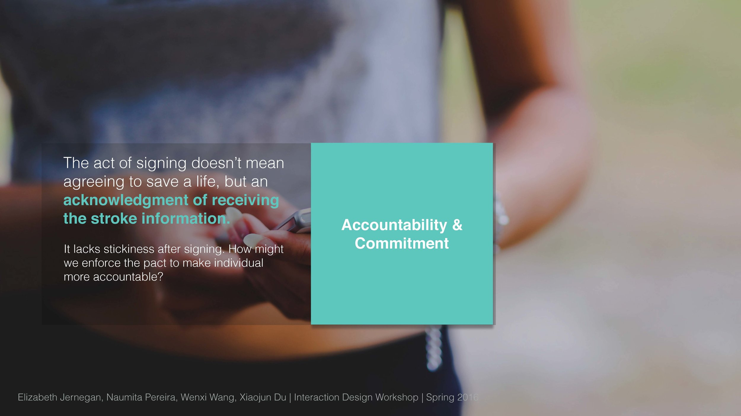 Accountability & Commitment