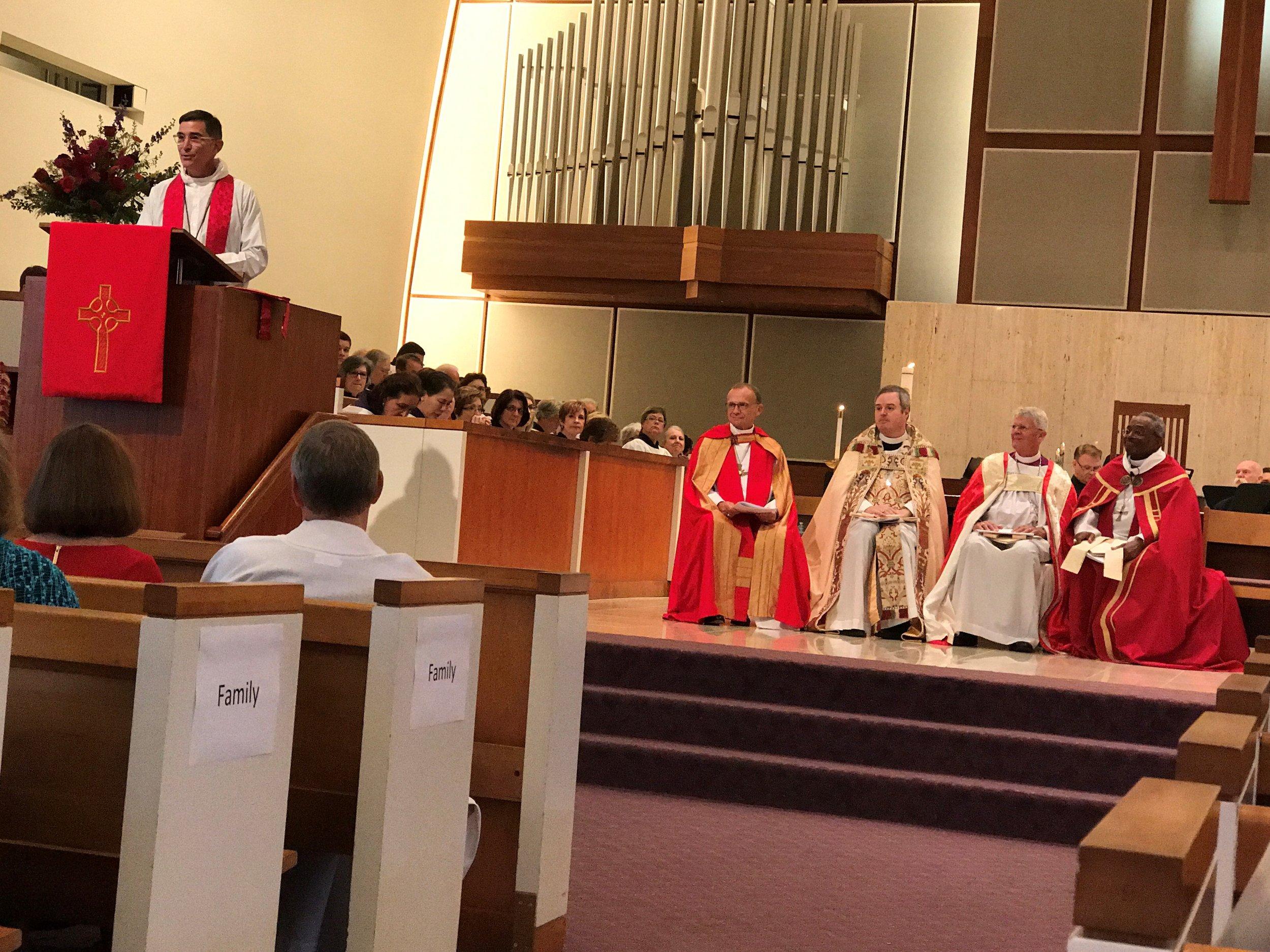 Bishop Rob Preaching at Kevin's Ordination.jpg