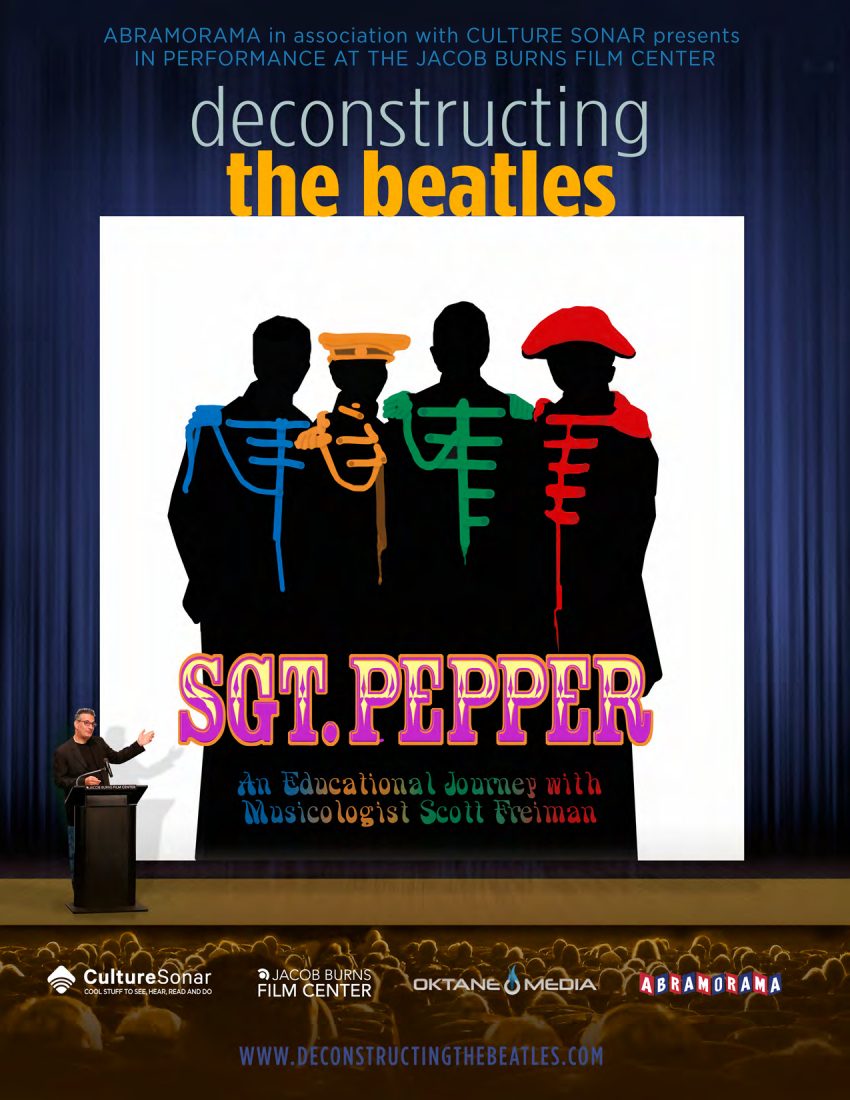 Sgt. Pepper  - Mon. 7/29 & 1:30p & 8:15p