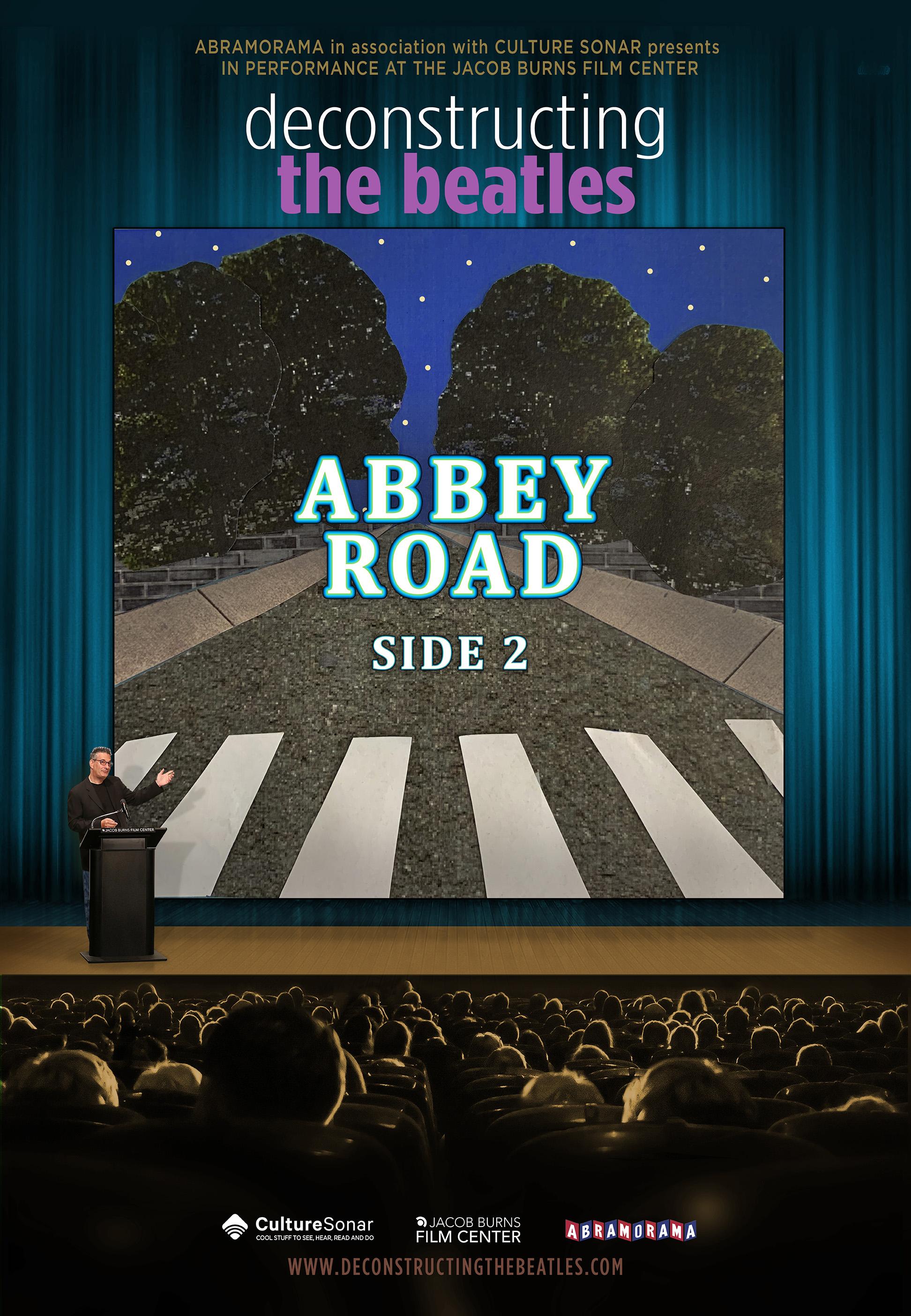 Abbey Road, Side 2  - Mon. 8/26 - Showtimes TBA